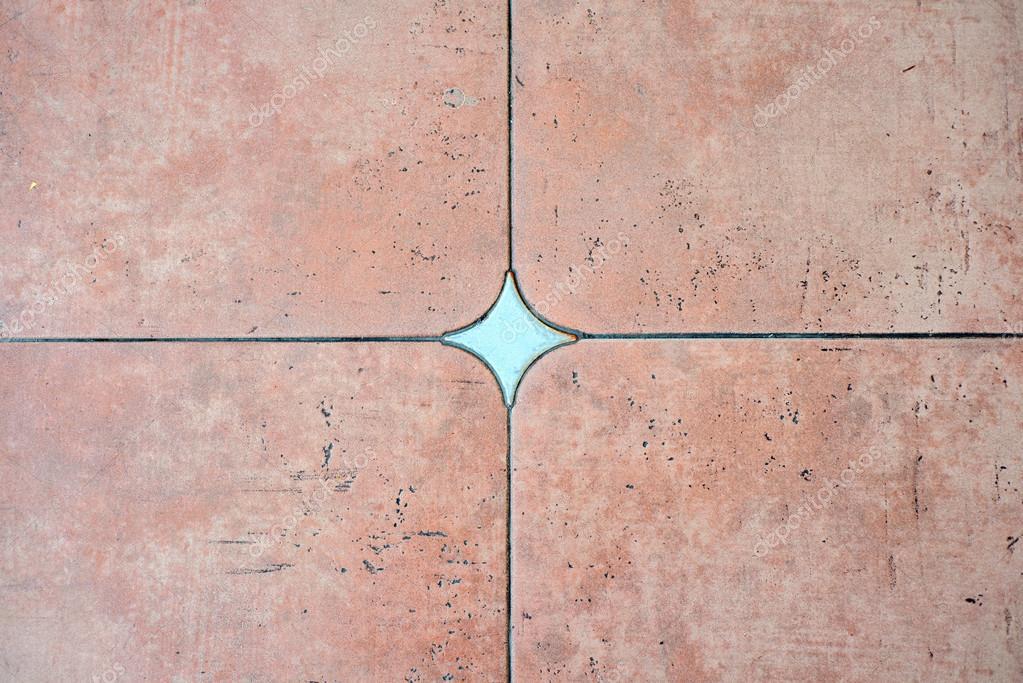 Decorate il colore di sfondo piastrelle in cotto u2014 foto stock