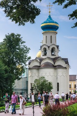 The Church of the Descent of the Holy Spirit. Holy Trinity-St. Sergiev Posad