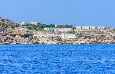 Sources Kallithea (Terme Kalithea). Rhodes Island. Greece