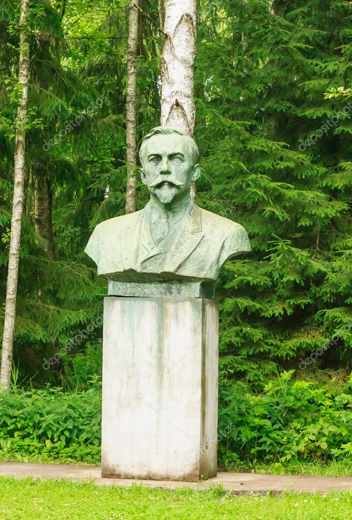 Monument To Mickevicius Kapsukas Grutas Park Lithuania Stock