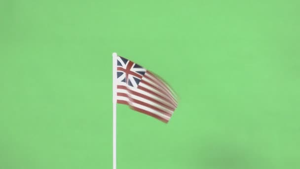 Real Continental flag of United States