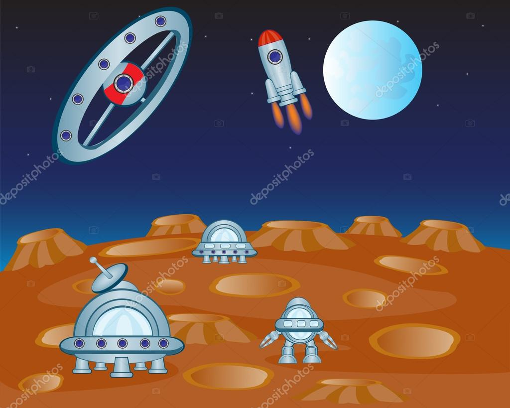 Study of the distant planet