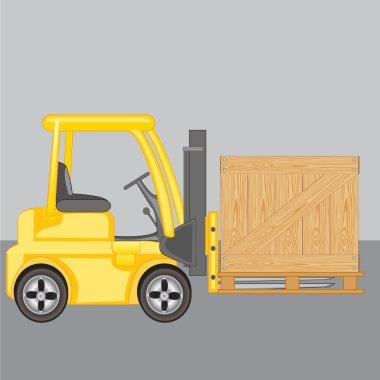 Machine for loading  loads box