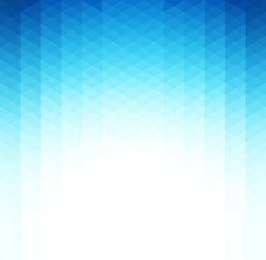 Vector Abstract blue geometric background. Template brochure design stock vector