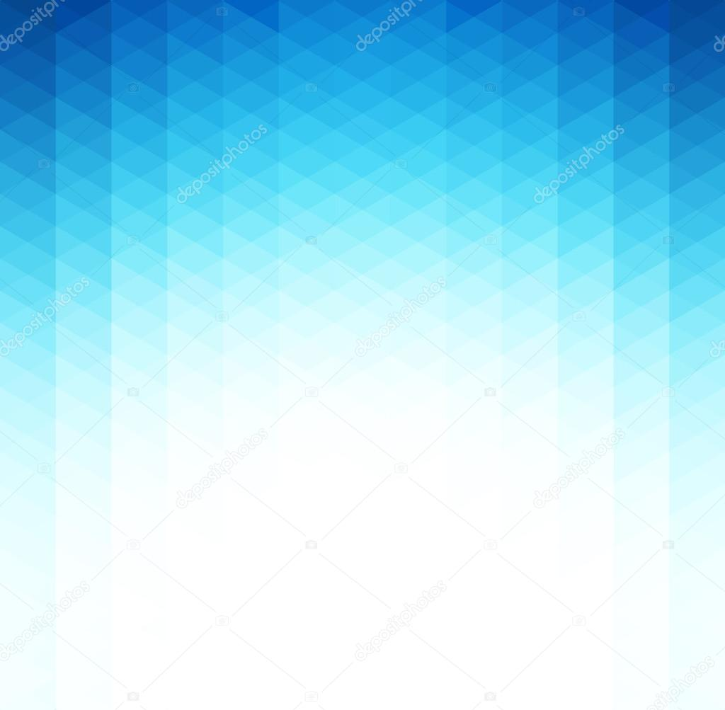 Abstract blue geometric background. Template brochure design