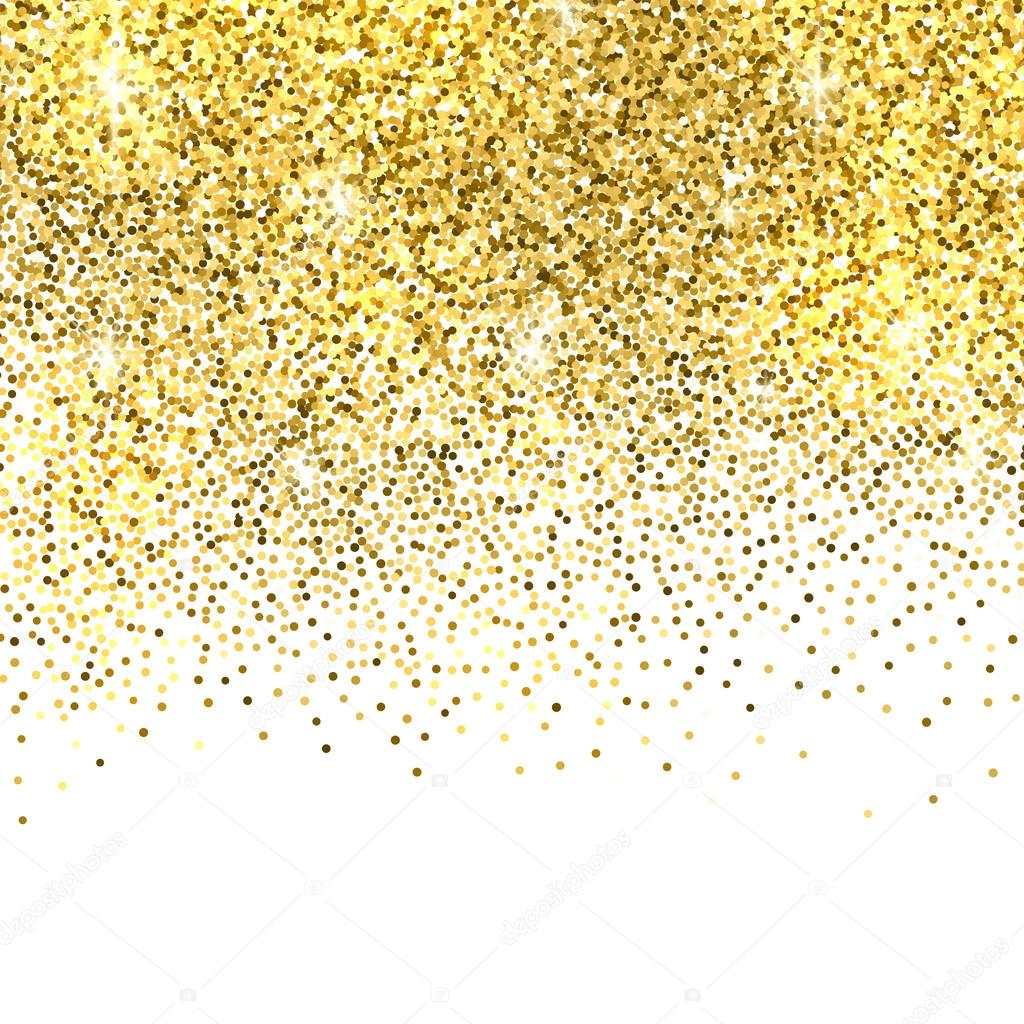 Gold glitter background. — Stock Vector © -strizh- #94936808