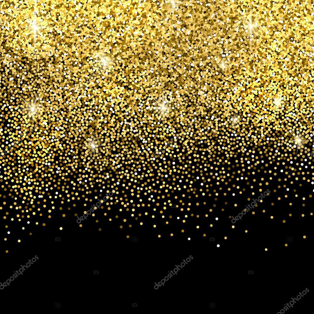gold glitter background � stock vector 169 strizh 94937118