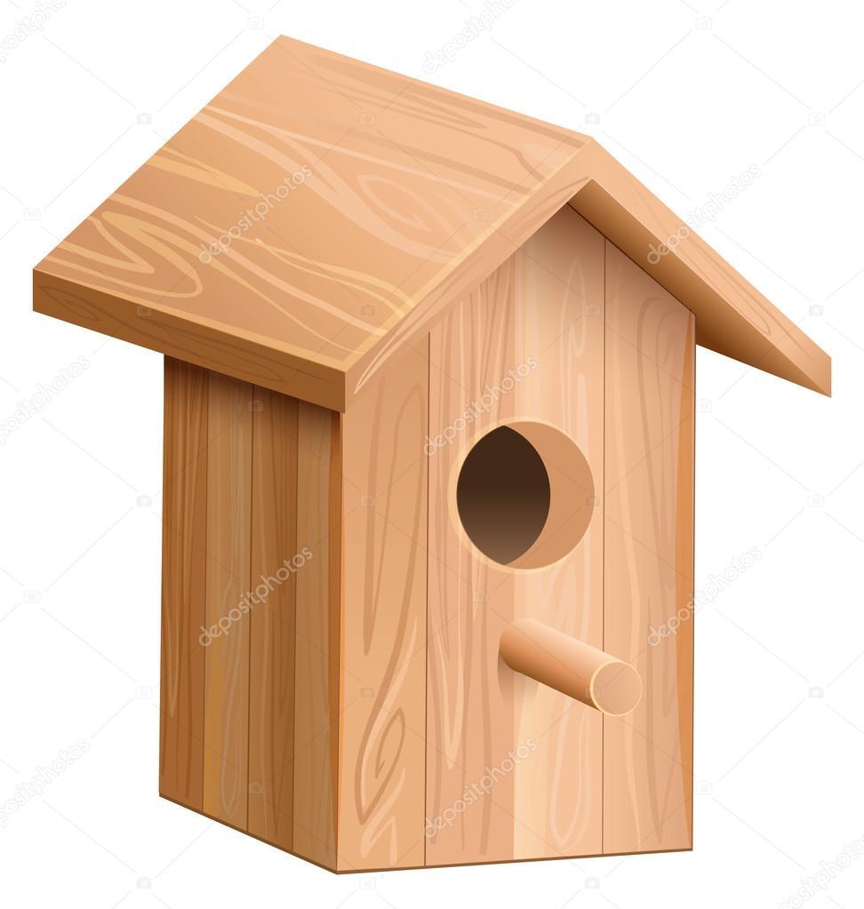 maison bois oiseaux