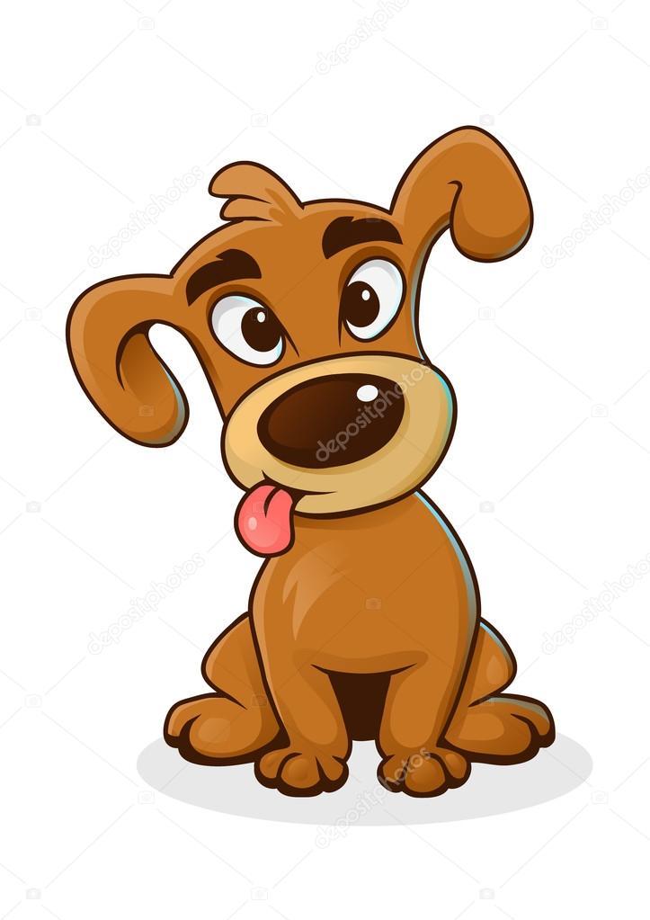 Cartoon grappige hond — stockvector veronichka