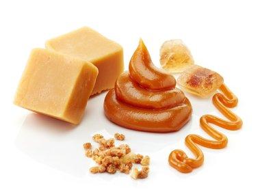 various kinds of caramel