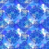 Photo Ornamental seamless pattern