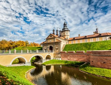 Nesvizh Castle - medieval castle in Belarus
