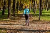 Fotografie stavgångpro nordic walking