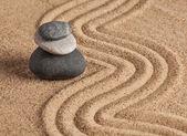 Giardino di pietra Zen giapponese