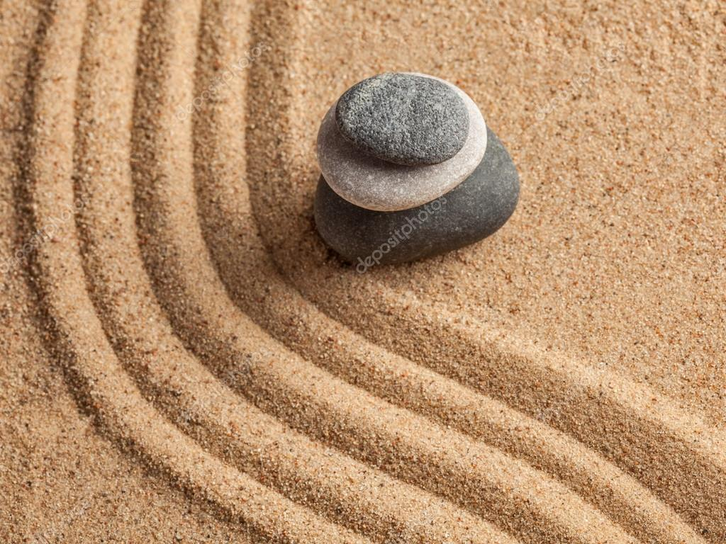 Japanese Zen stone garden — Stock Photo © DmitryRukhlenko #64662579