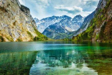 Obersee - mountain lake, Germany