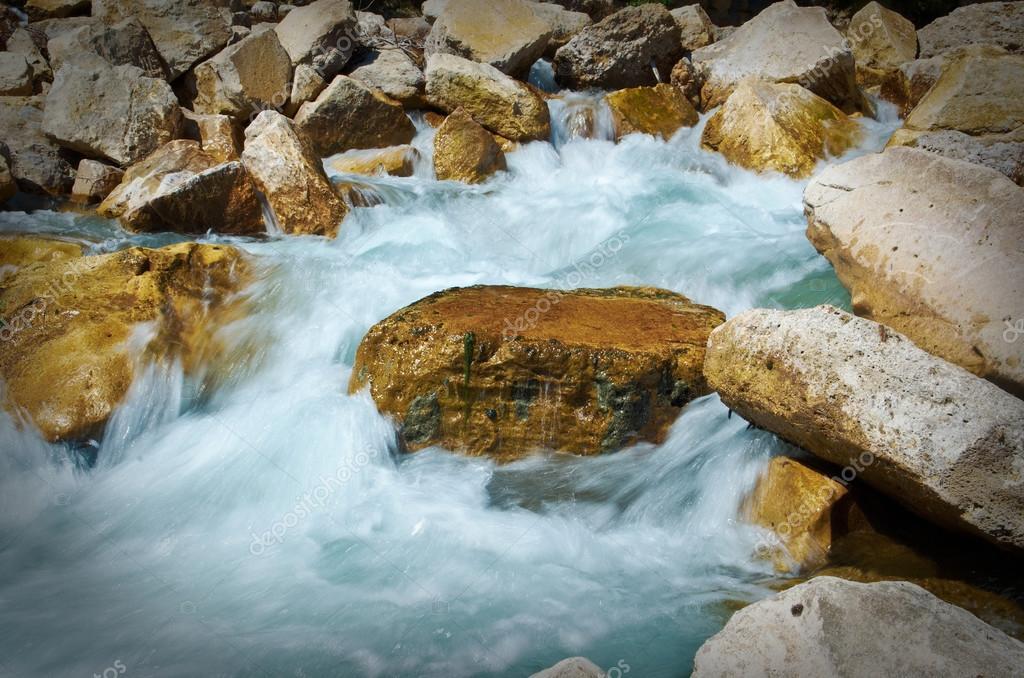 mountain river. Turkey.