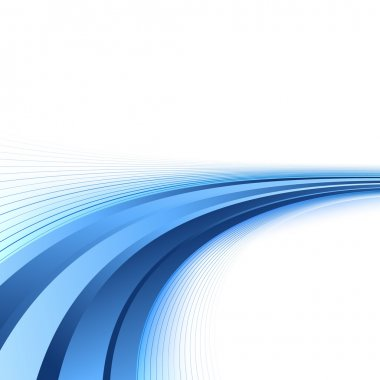 Bright blue lines certificate background