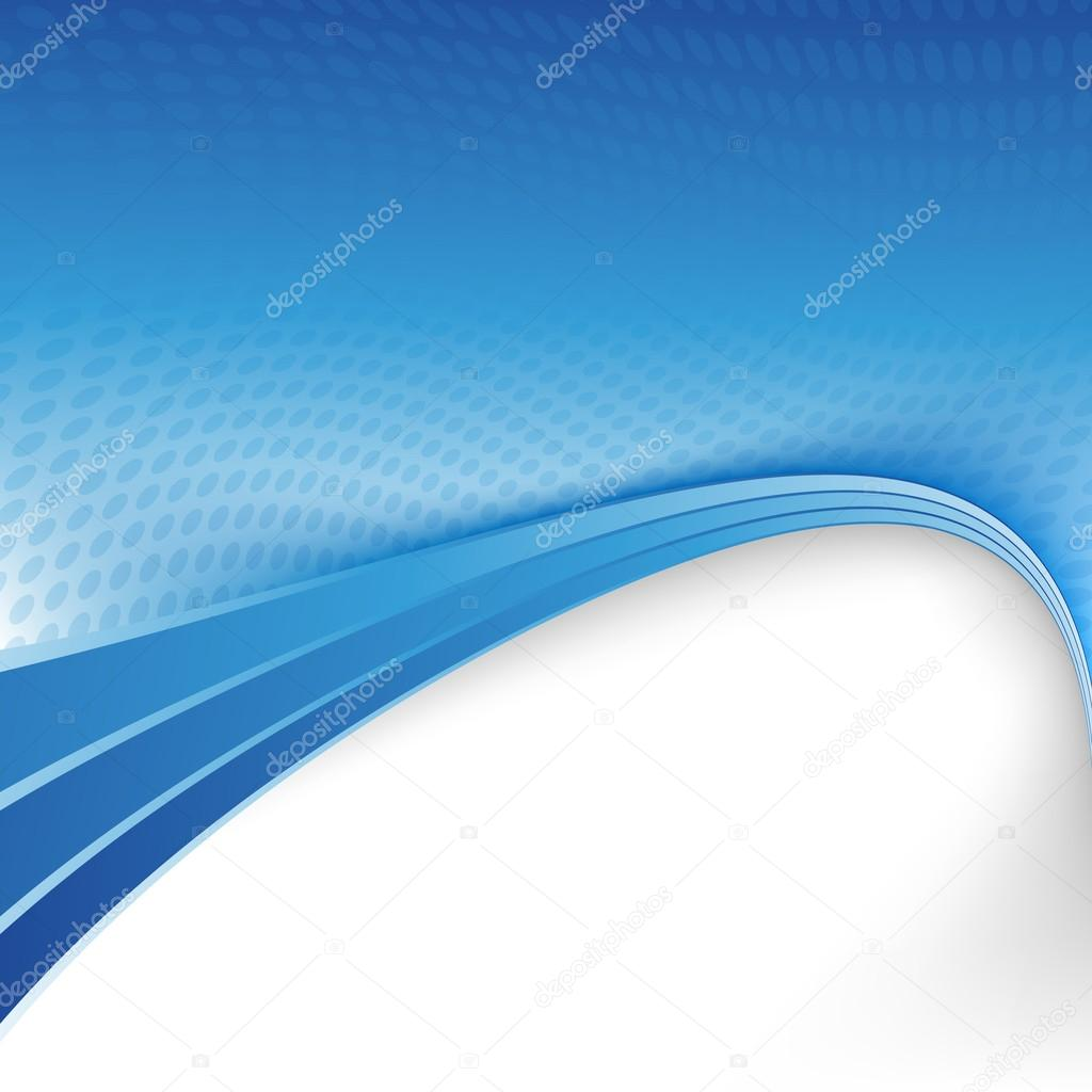 Blue border background — Stock Vector © phyZick #56215047