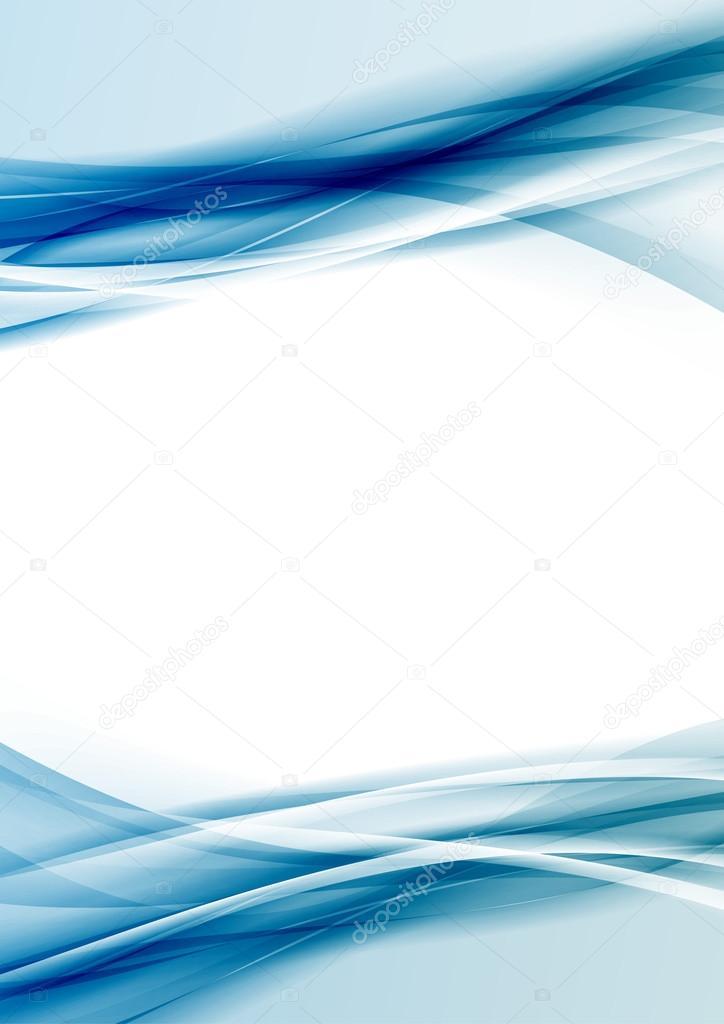 blue border design