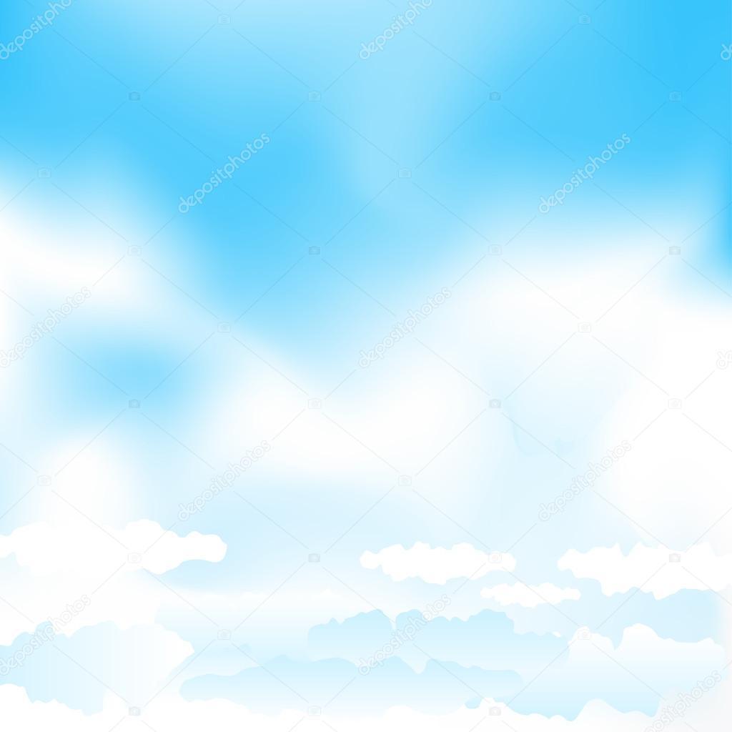 Cartoon Blue Mesh Sky Stock Vector C Romvo79 104280886