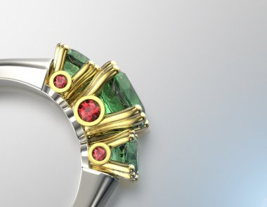 Peridot. Fashion Jewelry