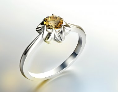 Ring with Diamond.