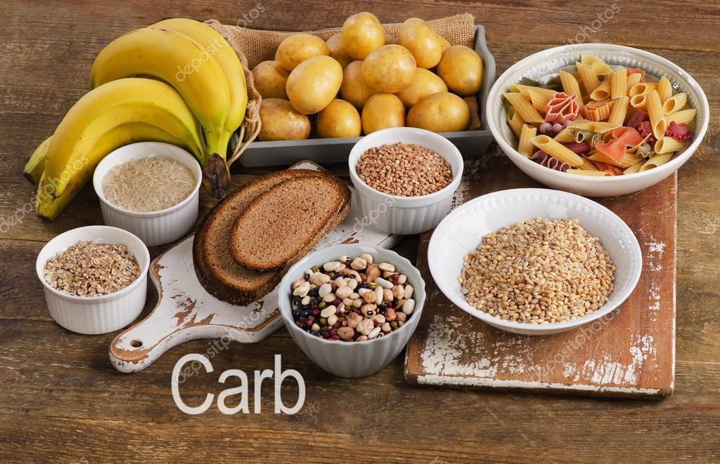 Alimentos ricos en hidratos de carbono fotos de stock - Alimentos hidratos de carbono ...