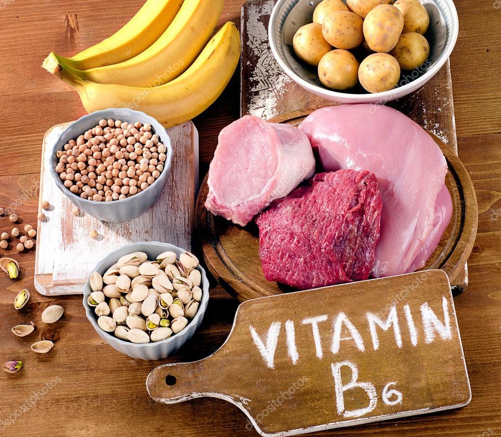 Foods Highest in Vitamin B6 — Stock Photo © bit245 #107831024