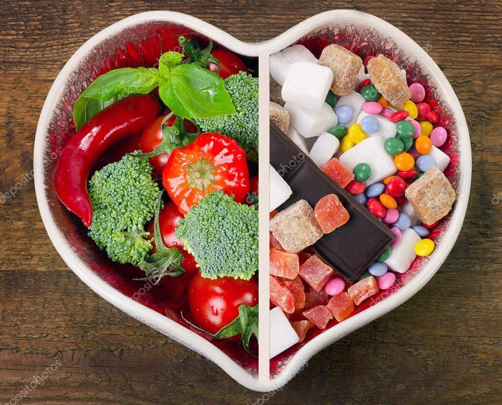 gezond en ongezond