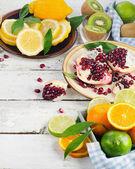 čerstvé zralé ovoce