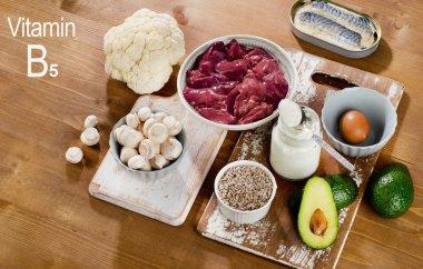 Food Highest in Vitamin B5