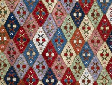 Georgian folk seamless pattern ornaments