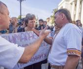 Soldiers Mothers demand the Verkhovna Rada