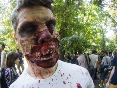 Zombie parade in kyiv