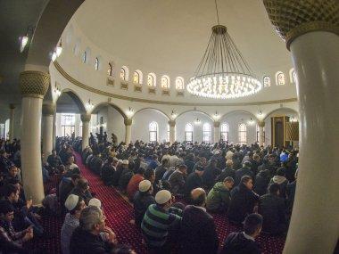 Eid al-Adha in Kiev mosque Ar-Rahma