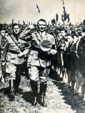 Hitler with Baldur von Schirach