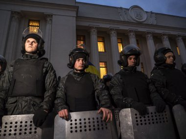 Financial Maidan protest in Kyiv