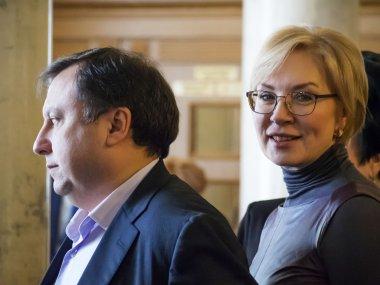 Lyudmila Denisova and Nicholas Knyazhytskyy