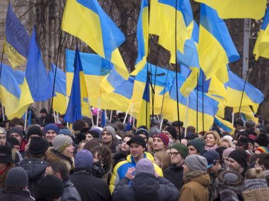 Rallies in Honor of Victims of Maidan