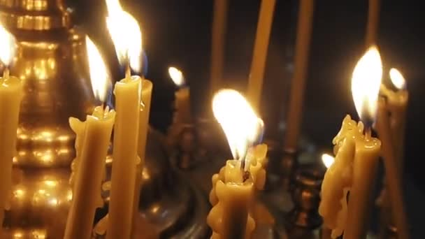 Memory candles light