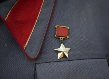 Fake Gold Star of Hero of the Soviet Union