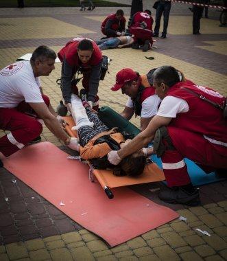 Indicative training emergency doctors