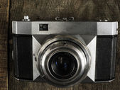 Starožitný fotoaparát