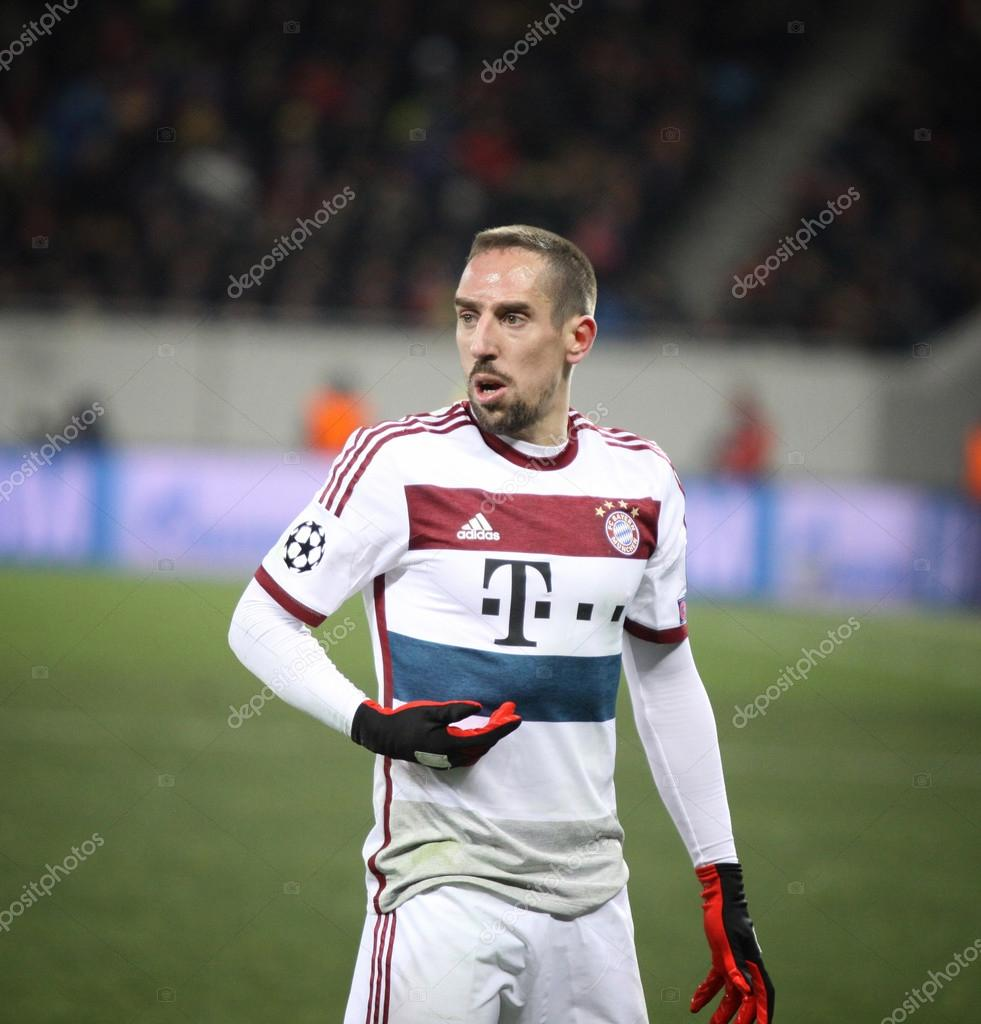 franck ribery lviv ukraine february 17 2015 franck ribery of bayern munich in action during uefa champions league game against fc shakhtar donetsk at arena lviv voltagebd Gallery