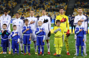 Ukrainian Premier League football game FC Dynamo Kyiv vs FC Chor