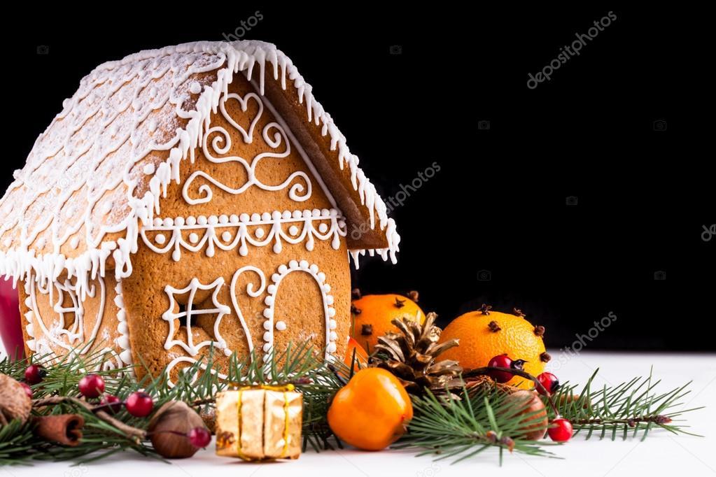 Peperkoek huis en inrichting u2014 stockfoto © oksixx #56238569