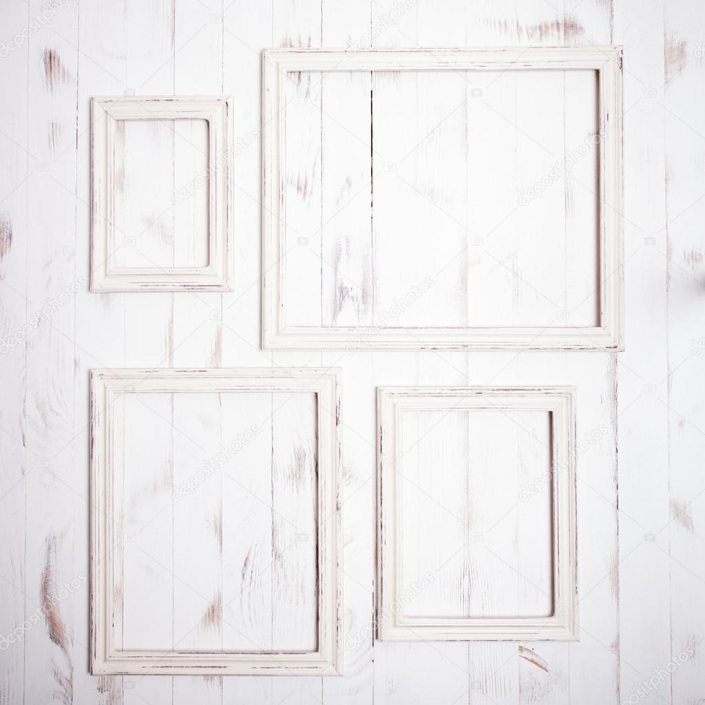 Shabby Chic Frames Stock Photo Oksixx 68323275