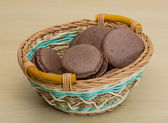 Photo Chocolate macaroons