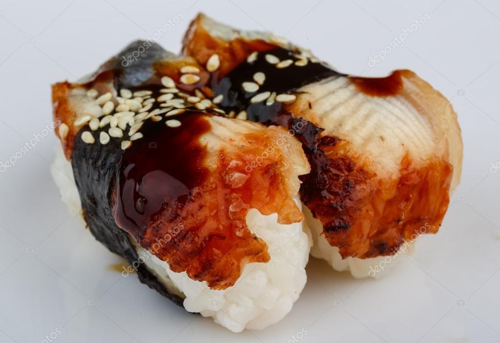 Sushi di anguilla \u2014 Foto Stock